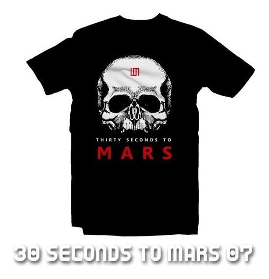 Playeras 30 Seconds To Mars - 15 Modelos Disponibles