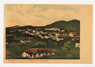 Cartao Postal Lambari ( Mg ) - Volta Do O Lambary - Anos 20