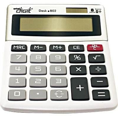 Calculadora De Mesa (bat/solar/8 Dig.) Cz 802 Spiral