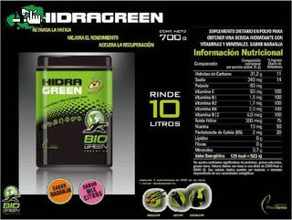 Hidragreen Hidratacion Y Recuperacion Polvo X4 Potes 700grs