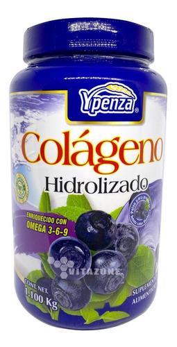 Imagen 1 de 9 de Colágeno Hidrolizado Berry 1.1 Kg Ypenza