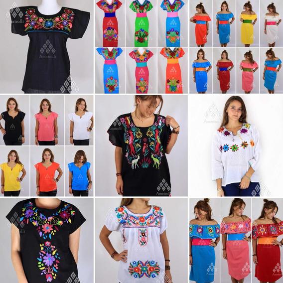 c78430d82acb Ropa Artesanal Mexicana Mujer - Ropa, Bolsas y Calzado en Mercado ...