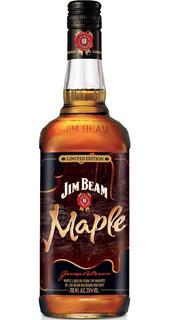 Whiskey Jim Beam Maple Bourbon Whisky Envio Gratis Caba