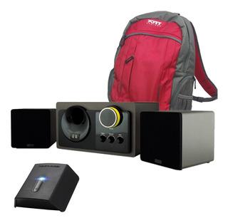 Parlante Home Theater Con Bluetooth Stil Con Flug Y Mochila