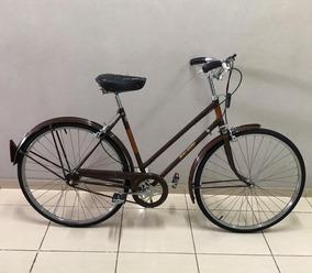 Bicicleta Raleigh Sports Original Pintura Cromo Tudo