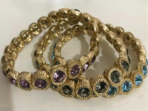 Kit Pulseiras Semi-jóias