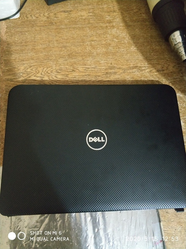 Carcaça Note Dell Inspiron 2620.Com Teclado E Touch Pad.