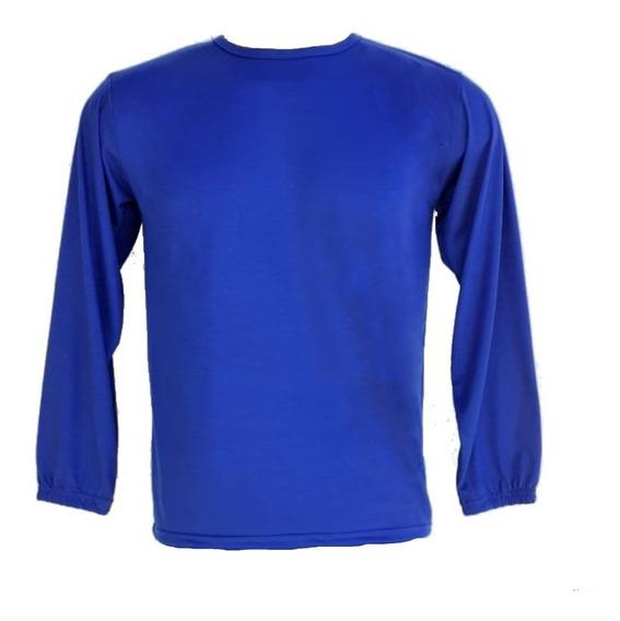 Uniforme Profissional Camiseta M/longa Kit Com 3 Camisetas