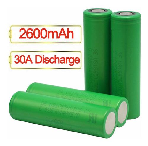 Imagen 1 de 4 de Bateria Pilas 18650 30a De 2600 Mah Vaper Vape *soy Tienda*