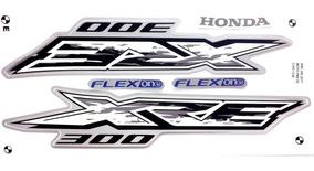 Faixas / Kit Adesivos Honda Xre300 2017 Preta