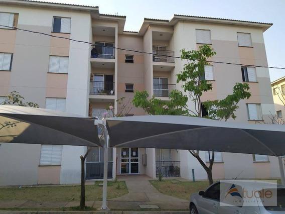 Apartamento À Venda, 50 M² - Vila Inema - Hortolândia/sp - Ap6705
