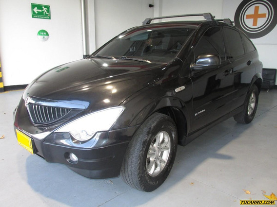 Ssangyong Actyon D20dt - 2000cc 4x4 Diesel Turbo Bajo