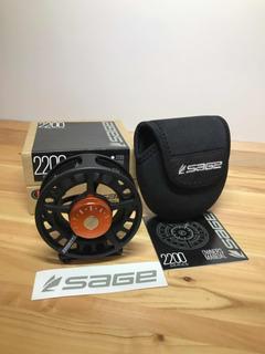Reel Para Pesca Con Mosca Sage Serie 2200 Para Línea 5 O 6
