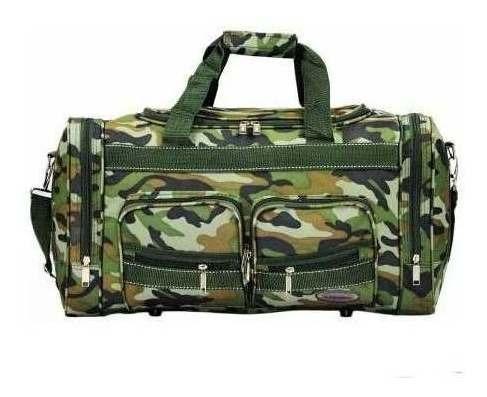 Bolsa Viagem Tatica Militar Masculina Camuflada Exercito 37l
