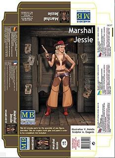 Nuevo Pin-up Serie Marshal Jessie 1/24 Master Box 24018