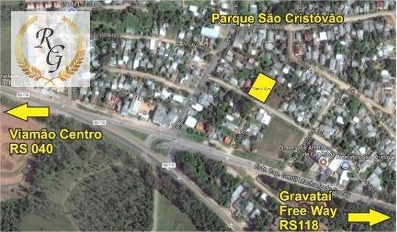 Terreno Residencial À Venda, Parque São Cristóvão, Viamão. - Te0037