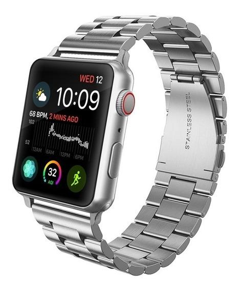 Correa Extensible Apple Watch 44mm Mumba Metal Original 42mm