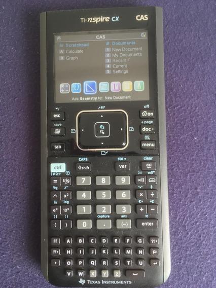 Calculadora Texas Instruments Ti Nspire Cx Cas + Software