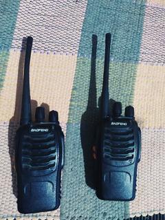 Rádio Comunicador Walkietalkie Baofeng 777s