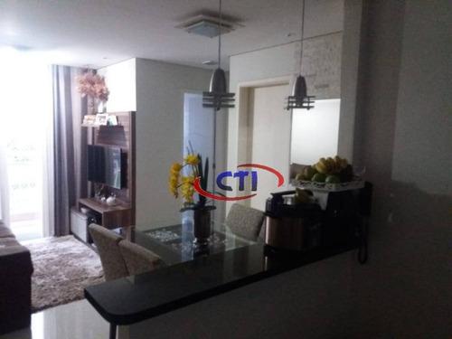 Apartamento Com 2 Dormitórios À Venda, 49 M² Por R$ 265.000  - Vila Gonçalves - São Bernardo Do Campo/sp - Ap2944