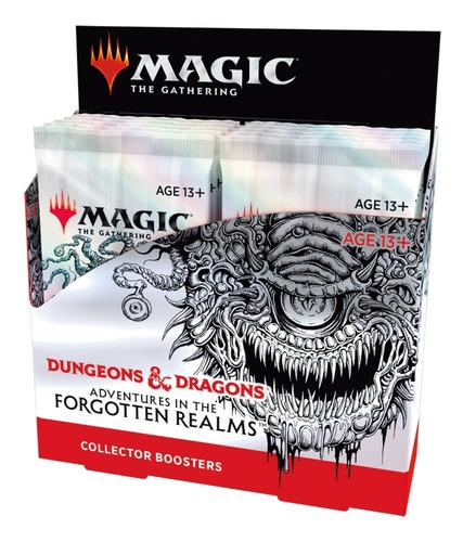 Imagem 1 de 6 de Collector Booster Box D&d Magic The Gathering Lacrada