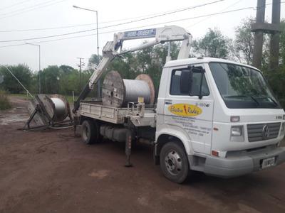 Alquiler Camión Hidrogrúa 10tnm Con Barquilla - Altura 15mts
