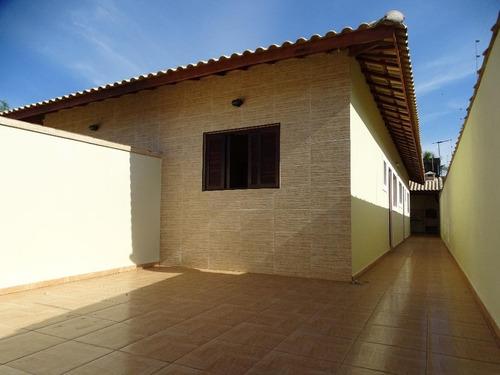 Belíssima Casa Nova Em Itanhaém  Minha Casa Minha Vida - Ca0608