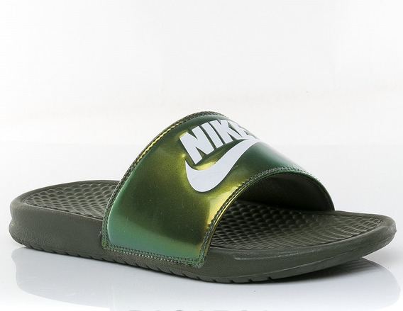 Ojotas Nike Benassi Jdi Print Medium Olive- Hombre