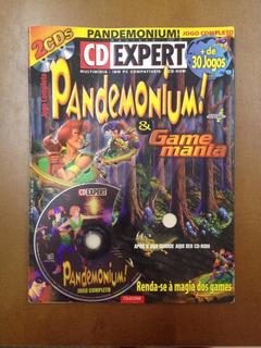 Revista Cd Expert Jogo Pc Pandemonium-raridade