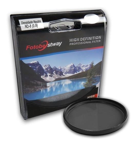 Filtro Densidade Neutra Nd-8 58mm Fotobestway