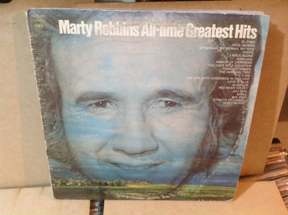 Vinil Lp Duplo Marty Robbins All Time Greatest Hits - Import