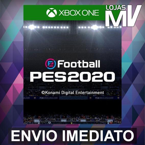 Pes 2020 Xbox One Código 25 Dígitos