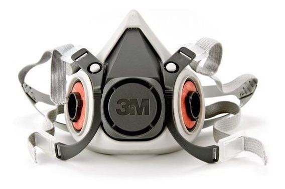 Respirador Reutilizável Semifacial 3m Série 6200