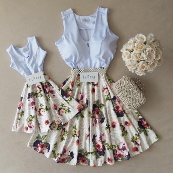 Kit Vestidos Tal Mãe Tal Filha Delicados Lançamento