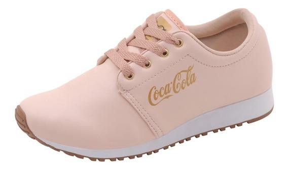 Tenis Coca Cola Feminino Sapatilha Coca Cola Corrida Verão
