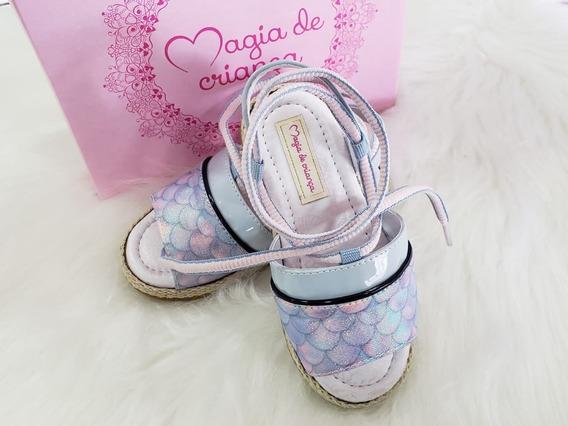 Sandália Fashion Magia De Criança