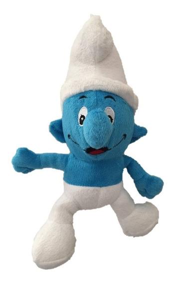Pelúcia Os Smurfs - Smurf Desastrado 26 Cm Musical
