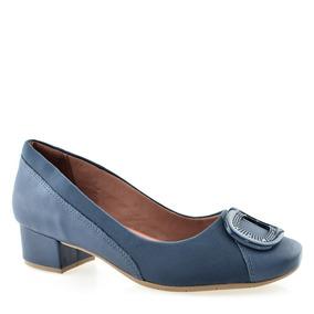 68db127712 Sapato Comfortflex Com Proteção Joanetes Salto Baixo 1895305