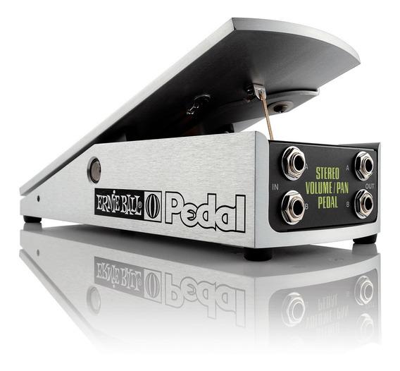 Pedal De Volume Ernie Ball Pan Stereo 500k Guitarra Promoção