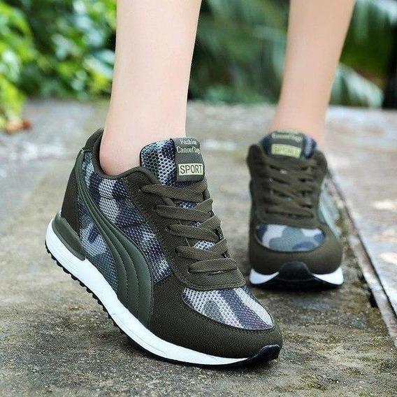 Sneaker Feminino Baoluma 72398 Importado