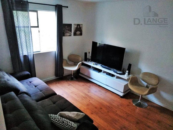 Apartamento Com 3 Dormitórios À Venda, 68 M² Por R$ 255.000 - Vila Marieta - Campinas/sp - Ap16418