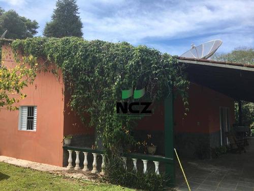 Chácara Com 3 Dormitórios À Venda, 5400 M² Por R$ 585.000,00 - Pavão (canguera) - São Roque/sp - Ch0024