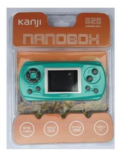 Consola Juegos Portatil Nanobox Kanji 328 Juegos La Mejor !!