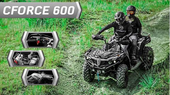 Cf Moto Cforce 600 Eps, Direção Elétrica Atv Off Raod