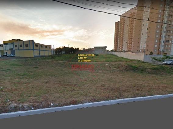 Área À Venda, Campos Elíseos, Ribeirão Preto. - Ar0058