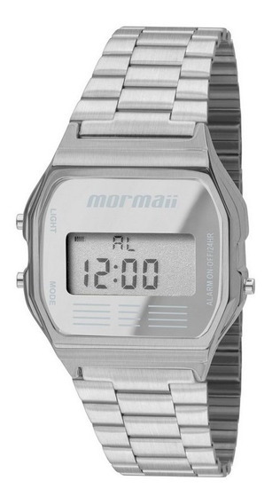 Relógio Mormaii Vintage Unissex Prata Mojh02aa/3c