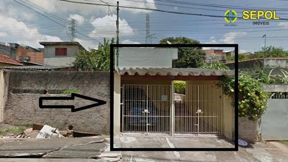 Casa Com 1 Dormitório Para Alugar Por R$ 650,00/mês - Cidade São Mateus - São Paulo/sp - Ca0371