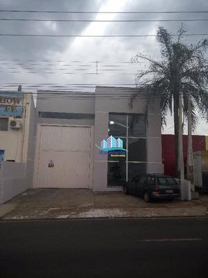 Barracão Para Alugar, 260 M² Por R$ 4.200/mês - Loteamento Remanso Campineiro - Hortolândia/sp - Ba0002
