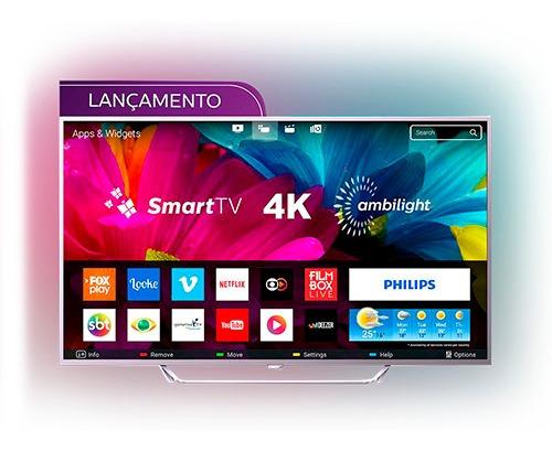Smart Tv Led Ambilight 65 Philips 65pug6412/78 Ultra Hd 4k