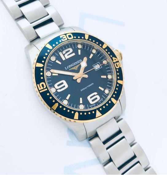 Reloj Longines Hydroconquest Azul Cuarzo